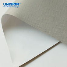 UNISIGN 8oz frontlit flex banner printing materials