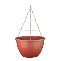 Plastic Hanging Pot With Chain