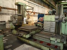 Horizontal boring mill- table type