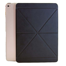 multi-functional Foldable PU Leather Case For iPad Air 2