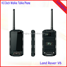 4 inch Rugged Waterproof Android 4.2 Land Rover Smart phone with Walkie Talkie Dual SIM Card