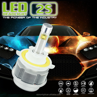DH-G1 hottest led headlight 40w 6000k IP68 3600lm/bulb 14 months warranty hi/low beam H13