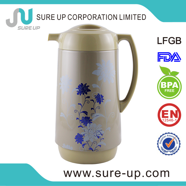Metal body vacuum flask, coffee glass refill 1 liter (JGCP)