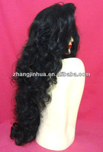 New arrival !!! Free shipping !! 100% virgin unprocessed human hair losse wave brazilian full lace wig