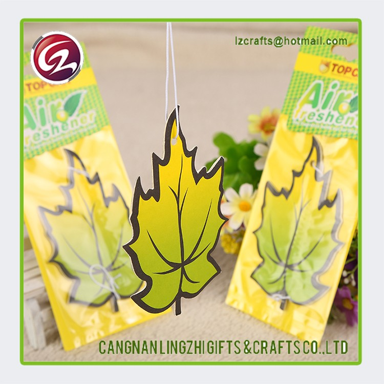 New product promotional absorbent hanging car air fresheners