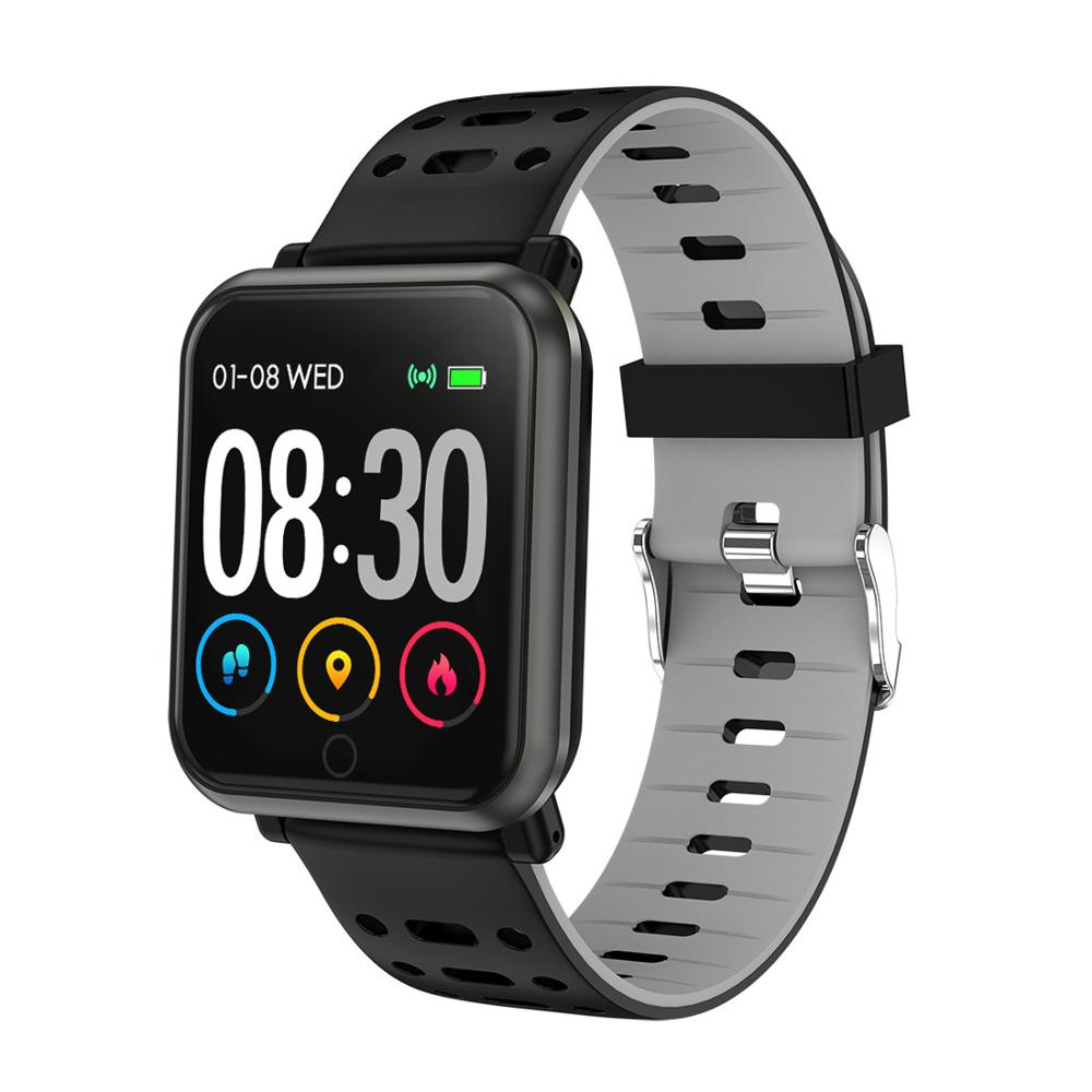 Waterproof Heart Rate Monitor Smart Wristband <strong>Watch</strong>