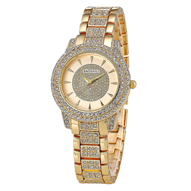 BAOSAILI Brand High Grade Full Diamond Luxury Women Watch