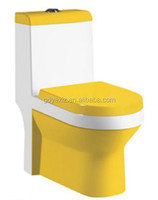 A3110 china energy saving siphonic one piece colorful toilet for bathroom