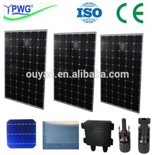 Best price per watt good quality/high efficiency mono 250W solar panel/module with CE certificate