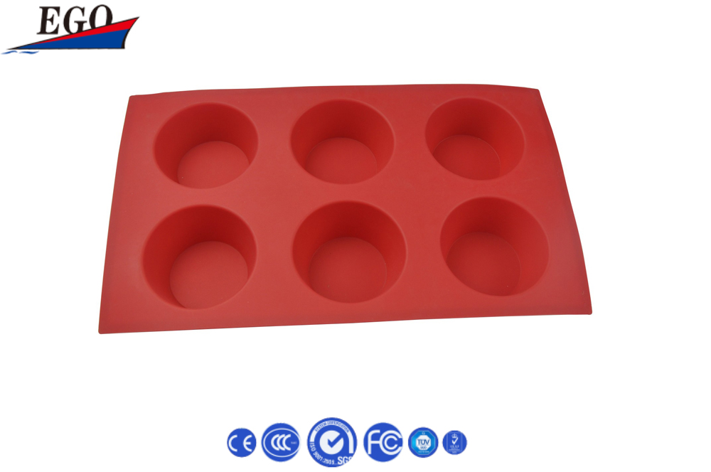 4cups silicone ice cube tray with lid