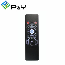2.4GHz 6 Axis Gyroscope Fly Air Mouse Keyboard Wireless T6 Mini Keyboard Remote Control for android tv box keyboard