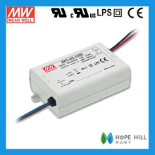 Original Meanwell 25W 700mA APC-25-700 Single Output Switching LED constant current driver