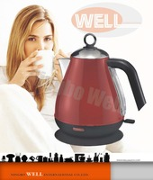 Italy Delonghi High Quality 304 Stainless steel 1.7L water kettle