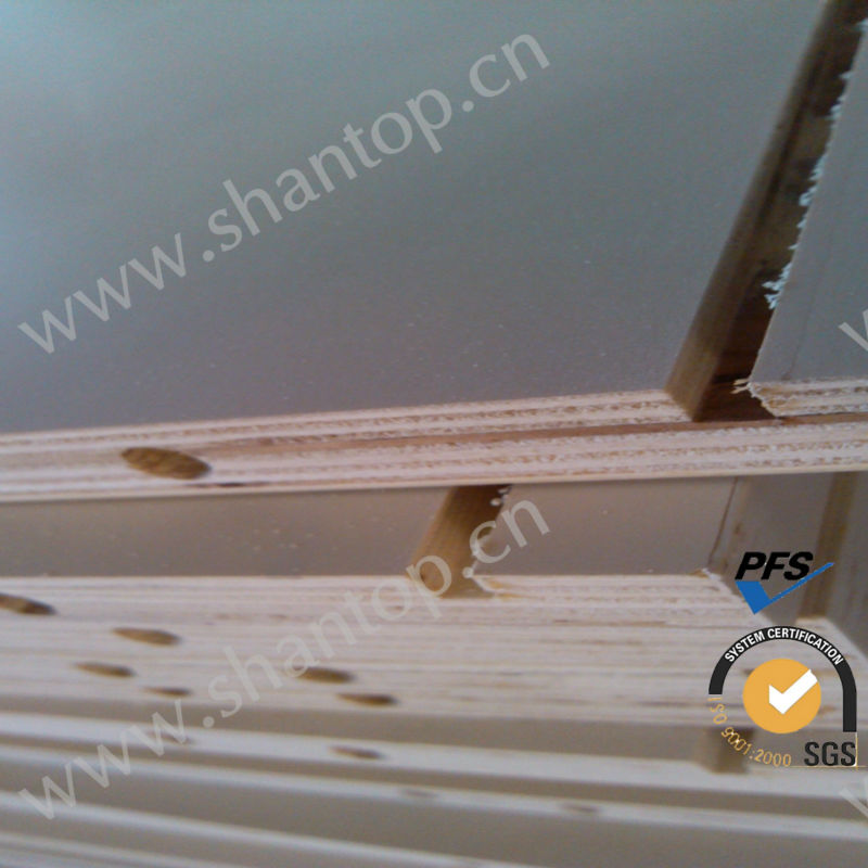 Slotted/drilled mdf board