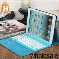 Universal Keyboard Case For iPad, Wireless bluetooth 2.0 ABS keyboard + PU leather case for iPad 2 3 4