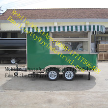 Food trailers coffee trucks for sale food trailers coffee trucks food trailer/food van/mobile kitchen
