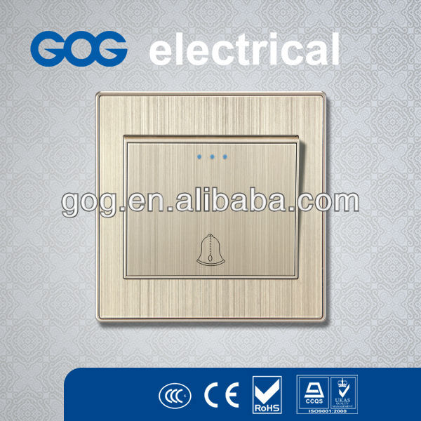 Aluminium Panel call bell switch for residential