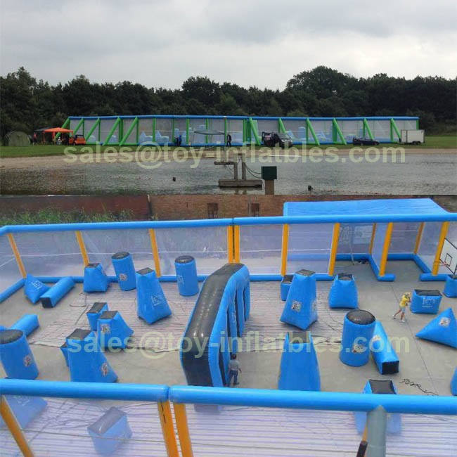 hot sale inflatable paintball bunker games/inflatable airsoft bunker/inflatable speedball bunker