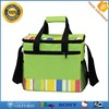 China Wholesales Polyester 15 Can Insulated Wine Cooler Bag Lunch Cooler Bag