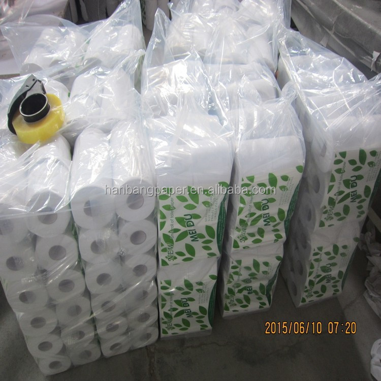 Manufacturers supply wholesale health roll paper toilet paper high quality toilet paper