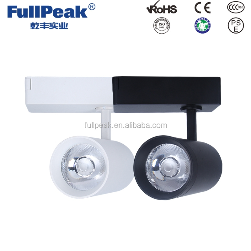 Project Source White Connection Gimbal Standard led Linear Track Lighting Head