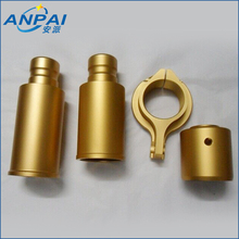 China brass / copper / Aluminum Custom CNC Auto Parts support plating / powder coating on