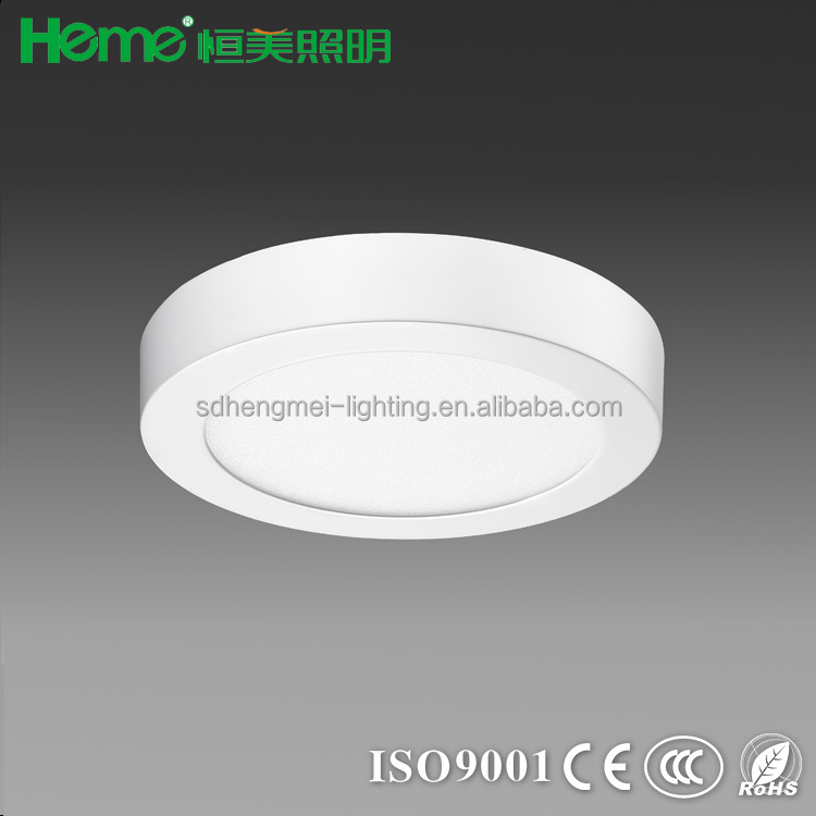high quality surface mounted round led suspended ceiling flat small panel downlights