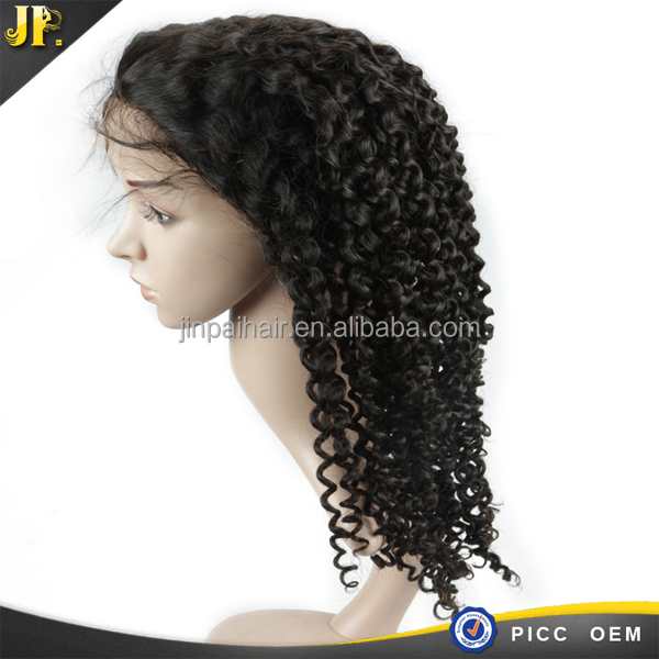 Wholesale supplier factory cheap full thin skin cap human hair lace wigs