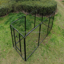 Large 8 panels wire mesh outdoor dog fence dog playpen pet enclosure