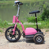 New design three wheeler standing up truck cargo tricycle with big front tire
