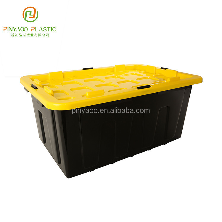 Factory Direct Sale Durable Heavy Duty Plastic Storage Bins
