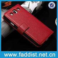 Leather Pouch Cover for Samsung Galaxy s3 i9300 Purse Case