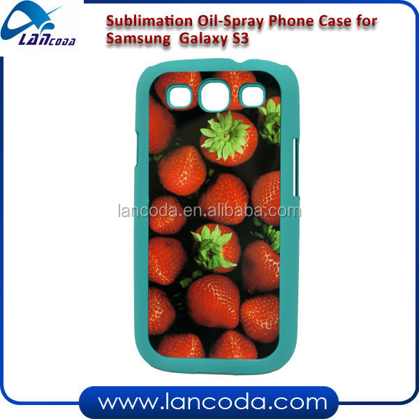 sublimation mobile phone cover for samsung s3