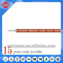 UL3266 single core electrical wire pvc cover