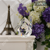 China Wholesale crystal drops for chandeliers & christmas tree decoration