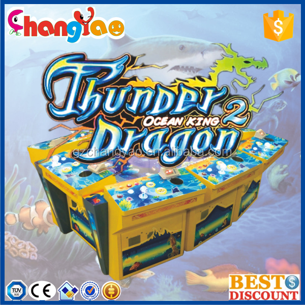 Hot Selling Thunder Dragon IGS Fishing Game Machine