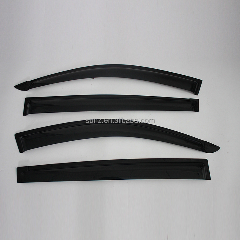 <strong>Mitsubishi</strong> <strong>l200</strong> triton 2001/2007/2009 black door visors Acrylic sheet high quality rain visors