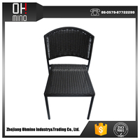 New modern cheap party rattan tables and chairs for sale