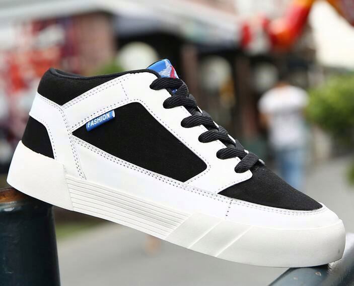 High Quality Men fashion sneakers Shoes men High top Breathable Casual Shoes
