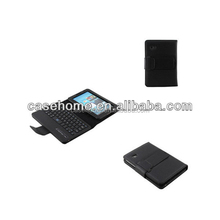 7 inch wireless removable keyboard leather case for Samsung tab 3 P3210