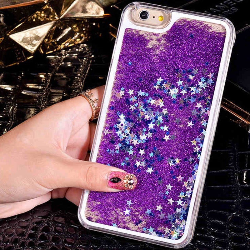 Cheap price glitter case cover for galaxy core prime g360 pc material liquid case smartphone export bulk