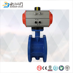 High Quality Pneumatic Butterfly Valve Price With Quality