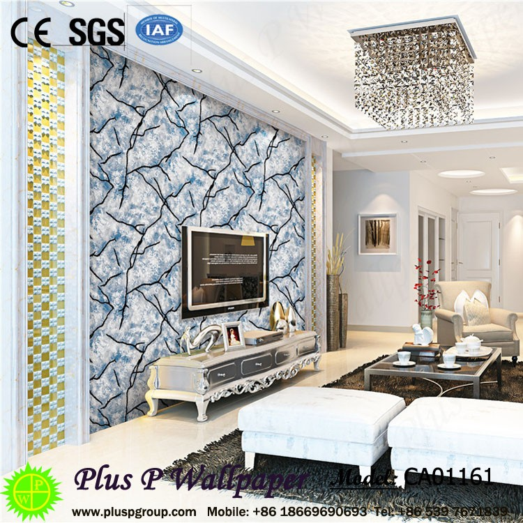 Plus P Luxury feeling Gold silver metallic wallpaper