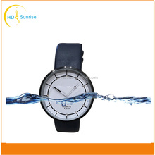 Trendy hot no brand name Luxury japan movement stainless steel watch custom watch women with leather band