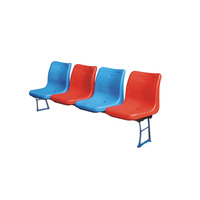 High quality portable folding plastic stadium chair