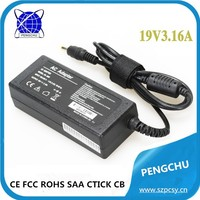 notebook computer accessories 19v 3.16a for dell
