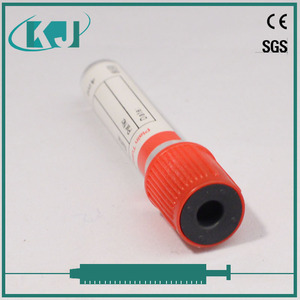 Plastic Plain Vacuum Blood Collection Tube