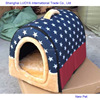 Best quality hot sale soft pet bed collapsible polar fleece dog house