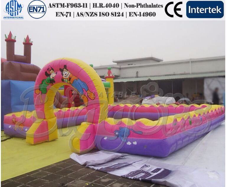 Children Inflatable Toys Giant Bouncy Playground Fun City