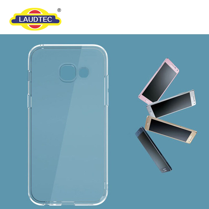 Ultra thin Clear Transparent phone case for Samsung Galaxy A3 2017 --------- Laudtec